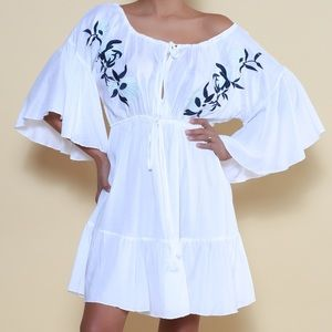 Dresses & Skirts - Caftan embroidered hand made